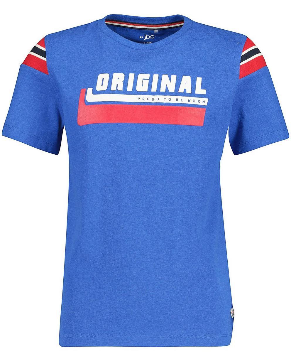 T-Shirts - Aqua - T-Shirt mit Aufschrift